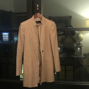 Beige coat - Zara